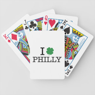 I Shamrock Philly Bicycle Playing Cards