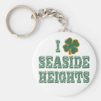 I Shamrock Seaside Heights Keychain
