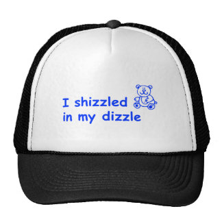 I-shizzled-in-my-dizzle-COM-BLUE.png Trucker Hat