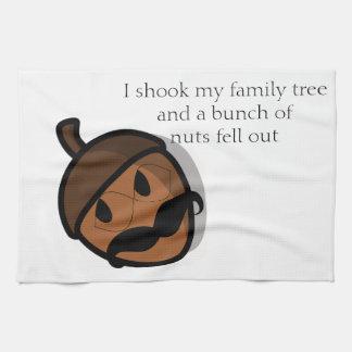 I Shook My Family Tree Kitchen Towels
