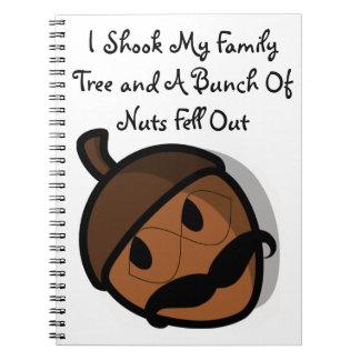 I Shook My Family Tree Notebook