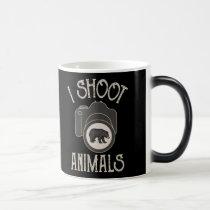 I Shoot Animals - Black Bear Magic Mug