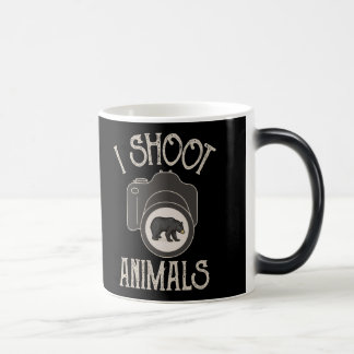 I Shoot Animals - Black Bear Magic Mug
