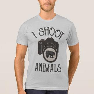 I Shoot Animals - Black Bear T-Shirt