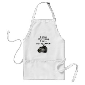 I shoot everything I can Adult Apron