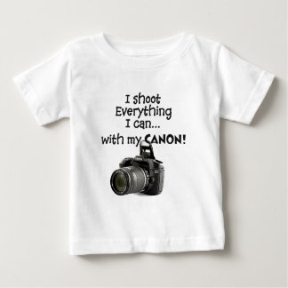 I shoot everything I can Baby T-Shirt