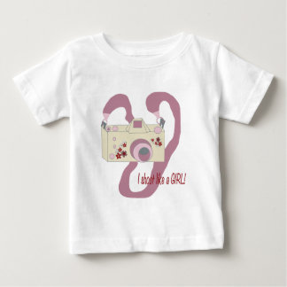 I shoot like a girl.png baby T-Shirt