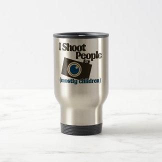 I Shoot People 15 Oz Stainless Steel Travel Mug