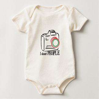 I Shoot People Baby Bodysuit