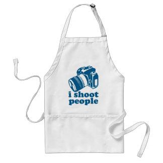 I Shoot People - Blue Adult Apron