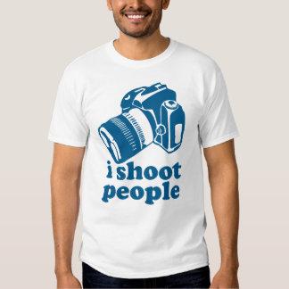 I Shoot People - Blue Shirt