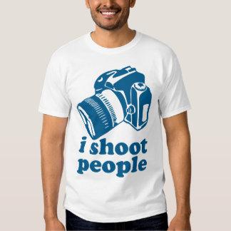 I Shoot People - Blue T Shirt