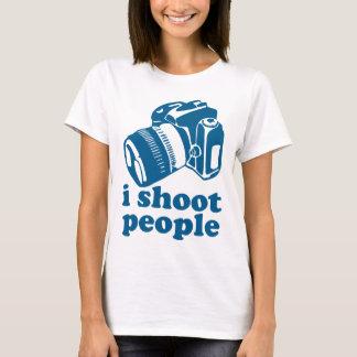 I Shoot People - Blue T-Shirt