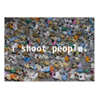 i shoot people business card