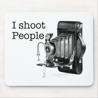 I shoot people camera mousepads