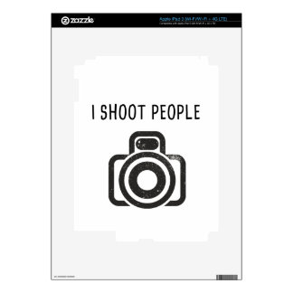 I shoot people - camera skins for iPad 3