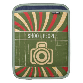 I shoot people- camera sleeves for iPads