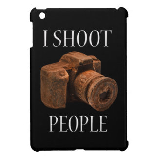 I Shoot People Chocolate Camera Ipad Case