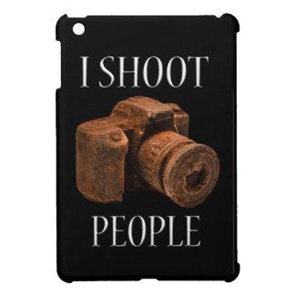 I Shoot People Chocolate Camera Ipad Case