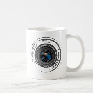 I shoot people classic white coffee mug