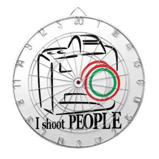 I Shoot People Dart Board
