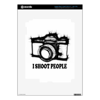 I shoot people decals for iPad 3