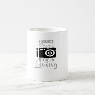 """""""I shoot people for a living"""" mug! Coffee Mug"""