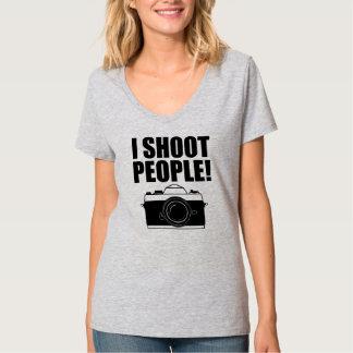 I Shoot People Funny Photographer shirt