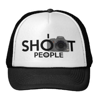 I Shoot People Funny Photographers Hat