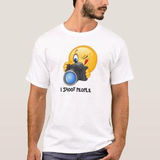 I shoot people funny shirt