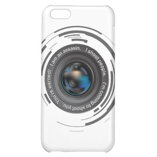 I shoot people iPhone 5C covers