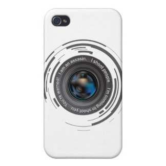 I shoot people iPhone 4 cases
