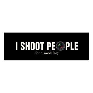 I shoot people - Metallic Paper (photography)