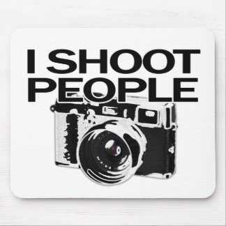 I shoot people mouse pads