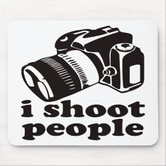 I Shoot People! Mouse Mat