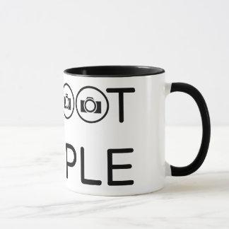 I shoot people mug