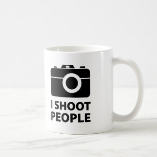 I Shoot People Mugs