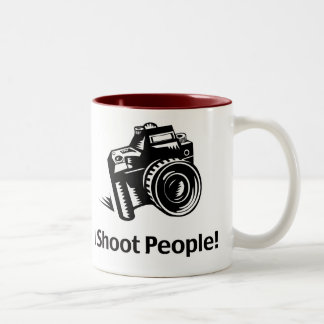I Shoot People Photographer Mug