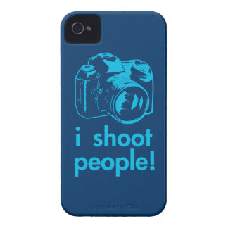 i shoot people photographer photography funny Case-Mate iPhone 4 case