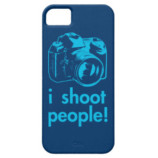 i shoot people photographer photography funny iPhone SE/5/5s case