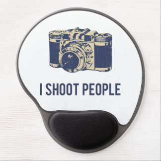 I Shoot People Photography Camera Gel Mouse Pad
