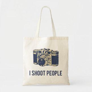I Shoot People Photography Camera Tote Bag