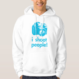 i shoot people photography photographer funny hoodie