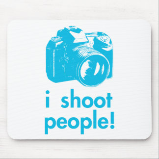 i shoot people photography photographer funny mouse pad