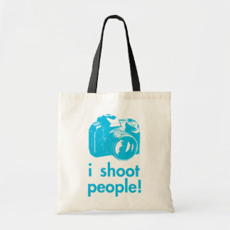 i shoot people photography photographer funny tote bag
