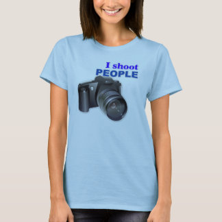 'I Shoot People' Photography T-Shirt