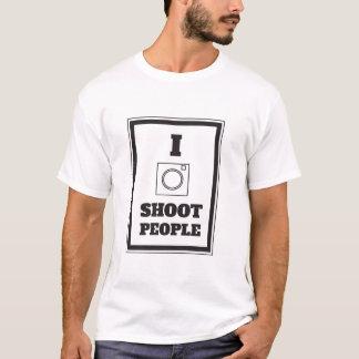 I Shoot People Photography Tshirt