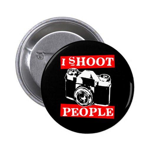 I Shoot People Pins