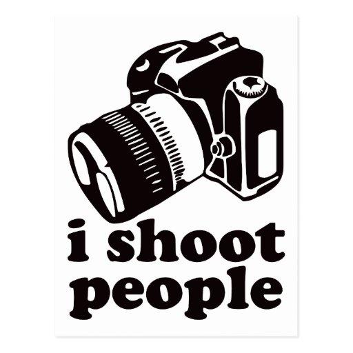 I Shoot People! Postcard
