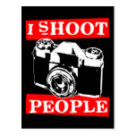 I Shoot People Postcards